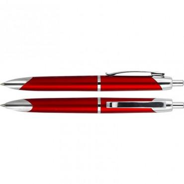 Długopis plastikowo-metalowy ISERA BP 2187 B