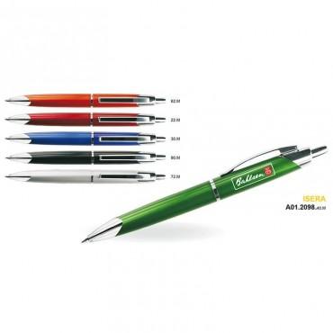 Długopis plastikowo-metalowy ISERA