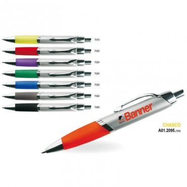 Długopis plastikowo-metalowy CHASCO