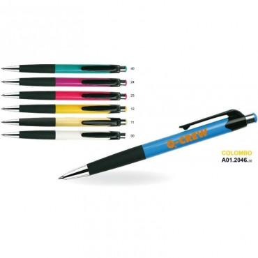 Długopis plastikowy COLOMBO