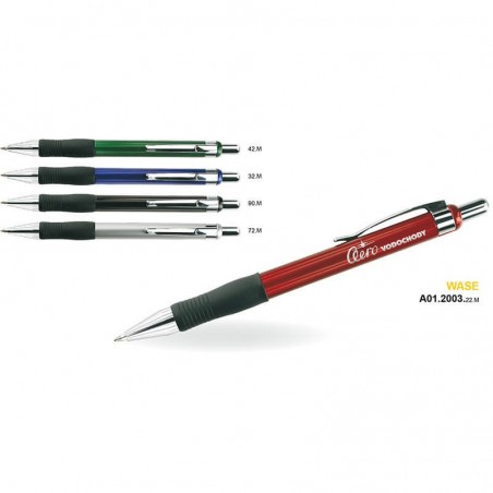 Długopis plastikowo-metalowy WASE