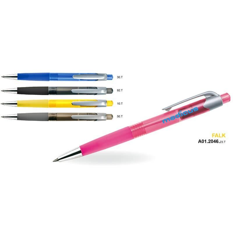 Długopis plastikowy FALK AH 505 A / AH 911 A MT TRANS
