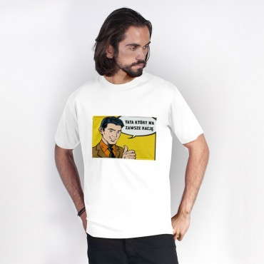 """Koszulka """"Komiks tata"""""""