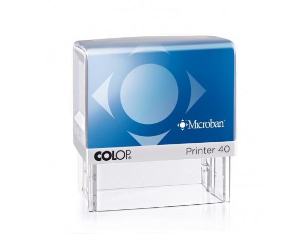 Pieczątki z powłoką antybakteryjną PRINTER IQ ROZMIAR 40 MICROBAN